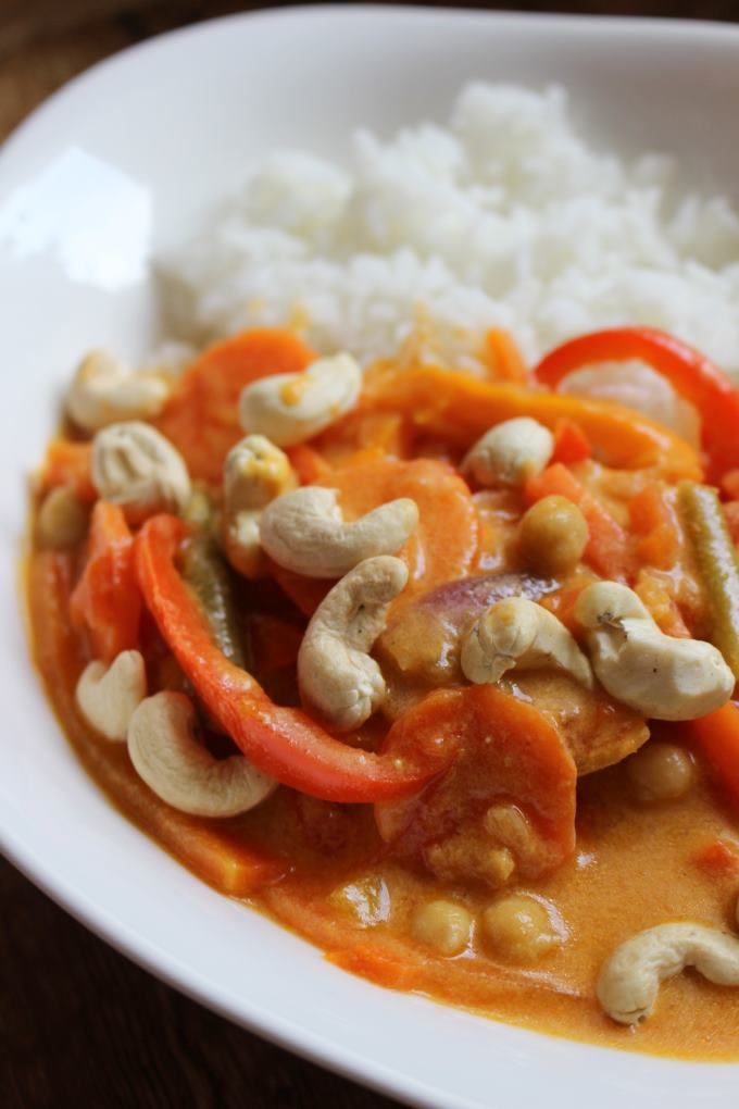 Cashew Curry Rezept