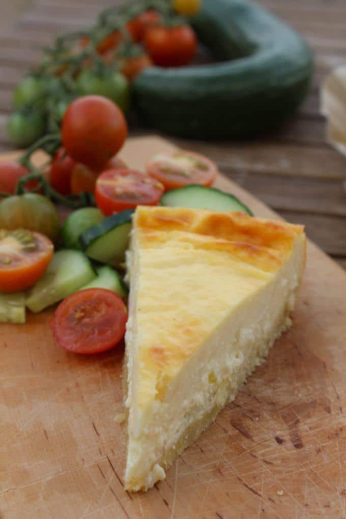 Herzhafter Käsekuchen
