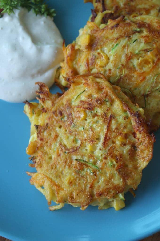 Gemüse-Kartoffel-Puffer