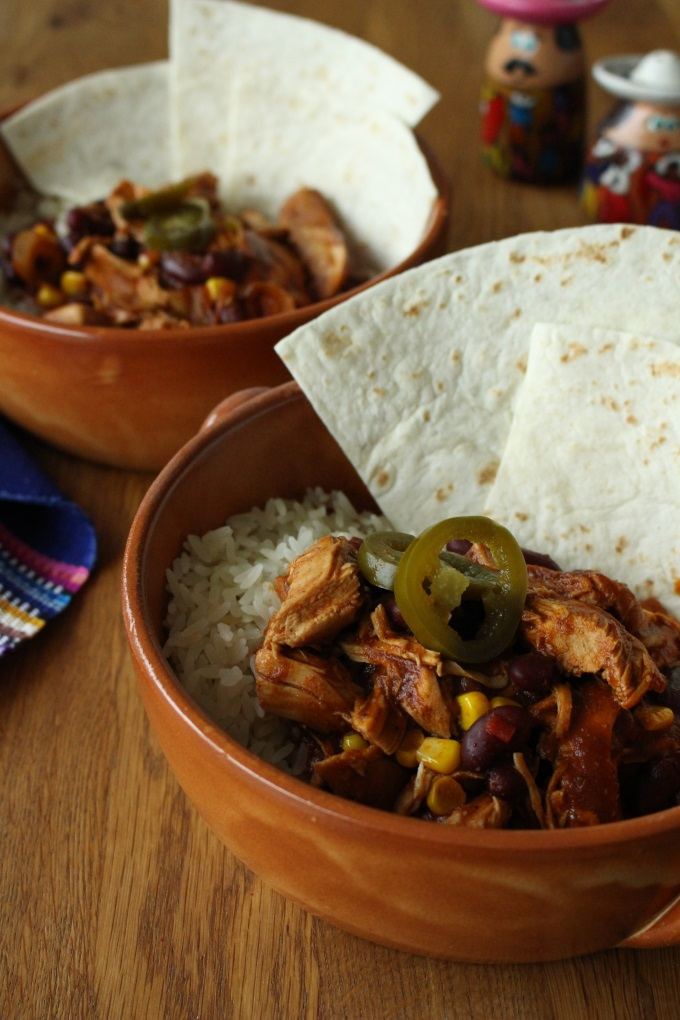"""Pulled Chicken """"Mexican"""""""