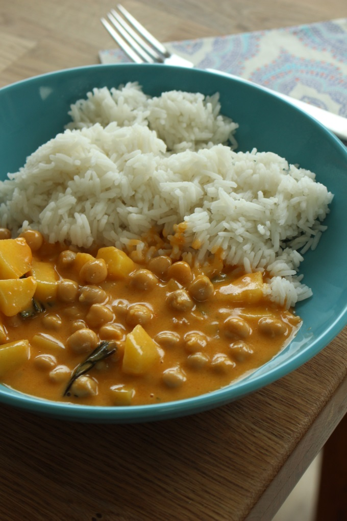 Kichererbsen-Kartoffel-Curry