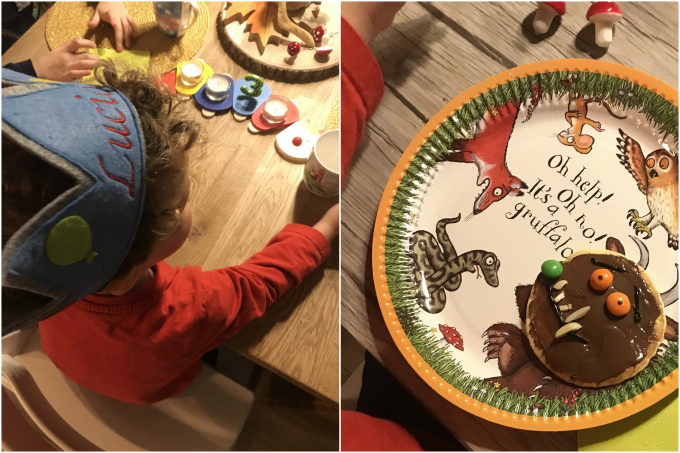 Grüffelo-Geburtstagsparty
