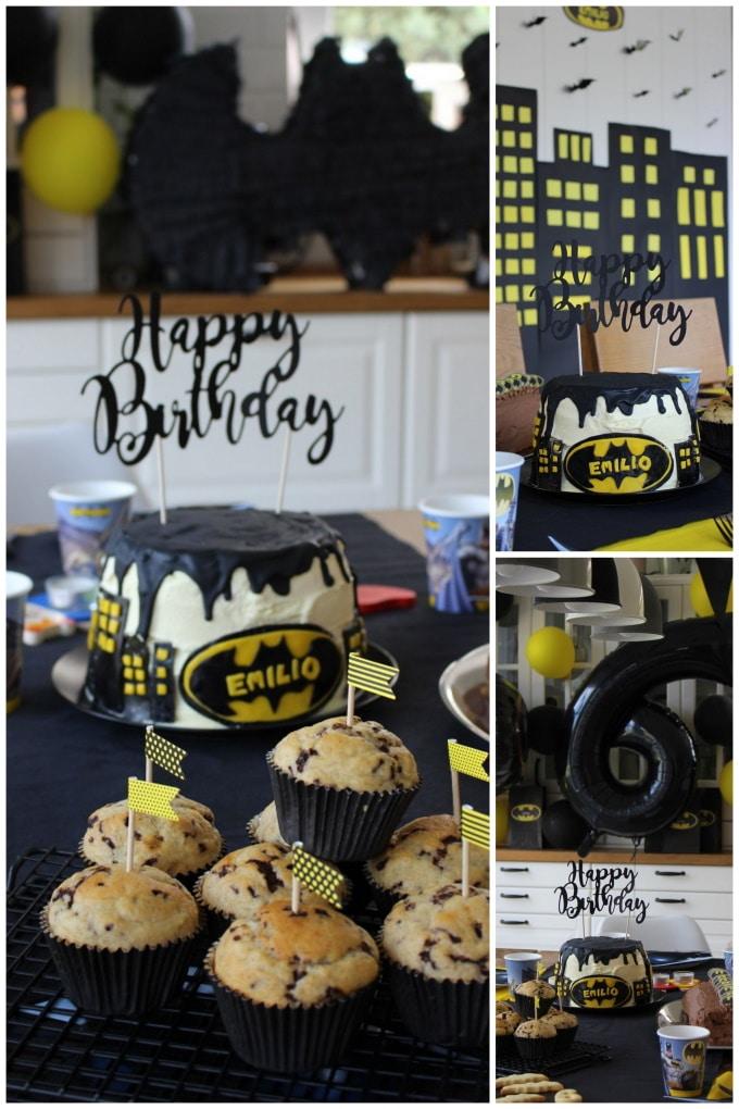 Wir feiern eine Batman-Geburtstagsparty